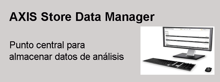 AXIS Store Data Manager