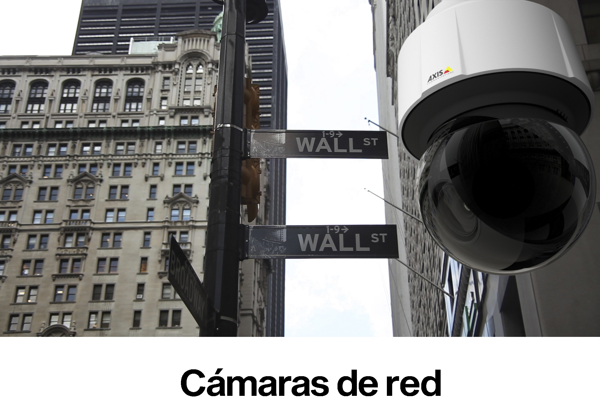 Cámaras de red Axis