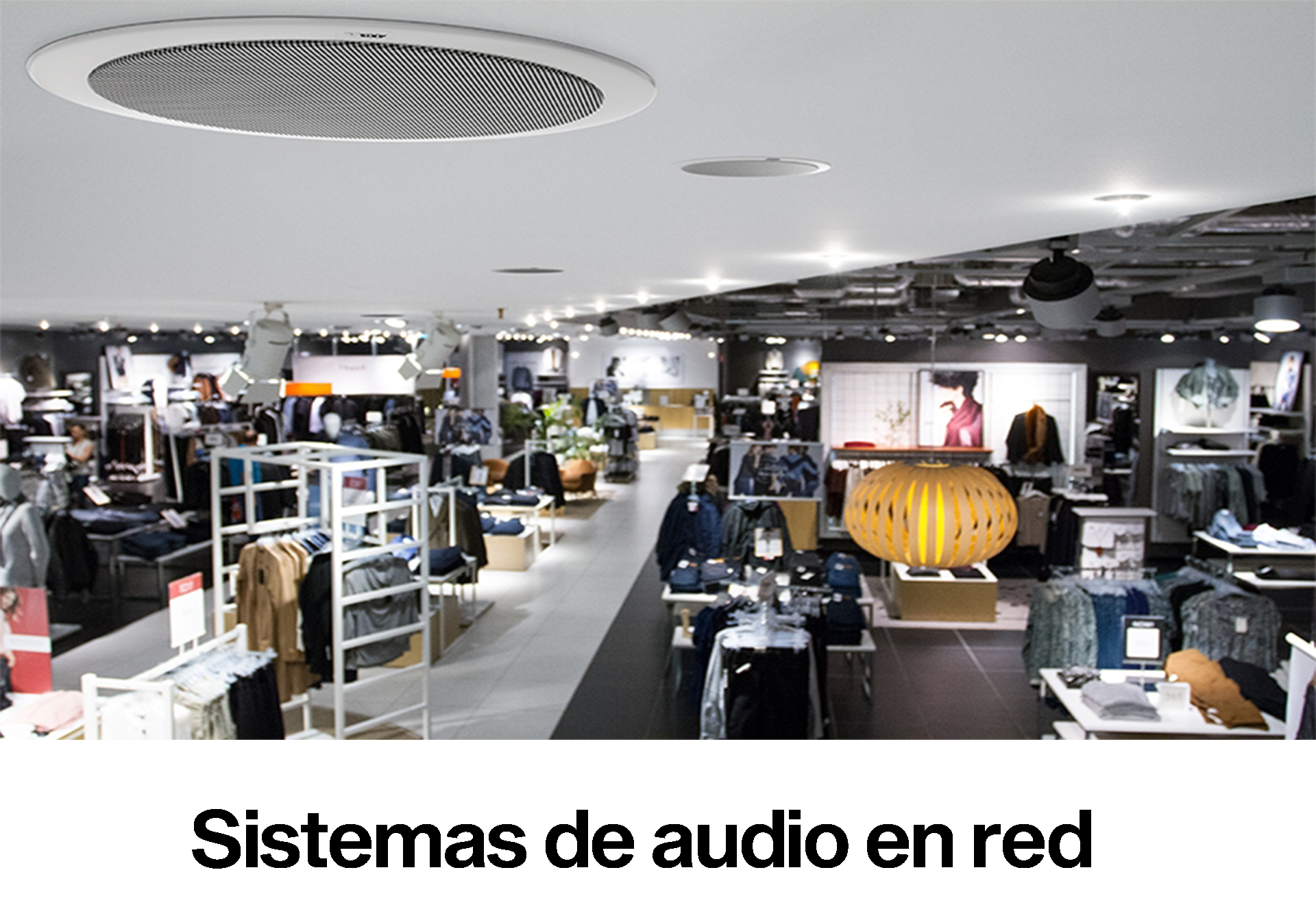 Sistemas de audio en red Axis