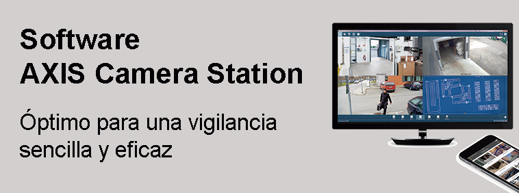 Software de gestión de vídeo AXIS Camera Station